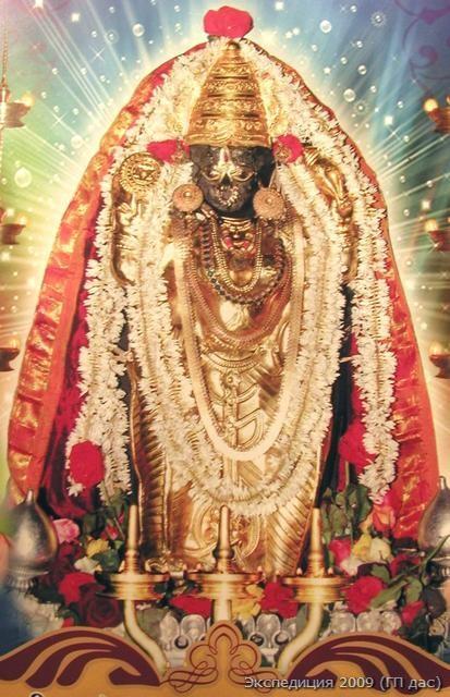 Божественная защитница, сестра Кришны - Шри Кунджару-гири Дурга-деви
