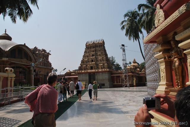 А это прототип храма Шивы из Гокарна, возведенный в Мангалоре