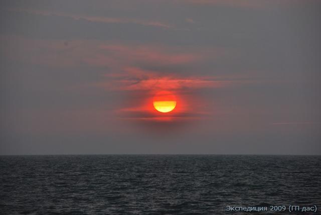Прощай теплое море на берегу святого городка Гокарна!