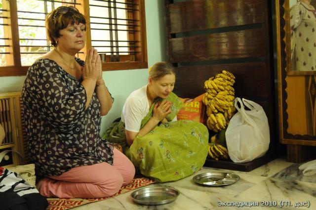Кто помолится, тем бананов обязательно дадим!