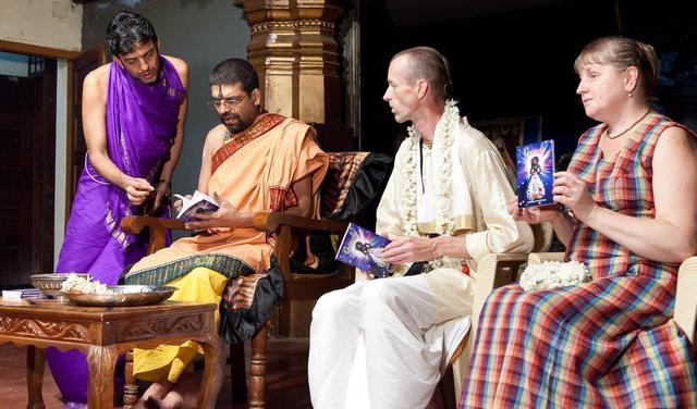 Ganesha Shri Krishna's devotee