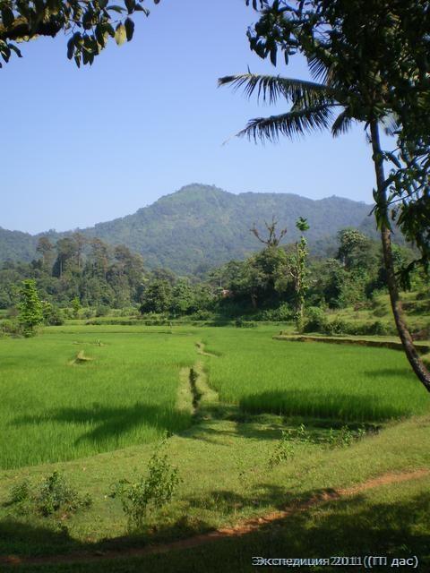 Путь к священному пику Кудачадри через «долину обетованную»