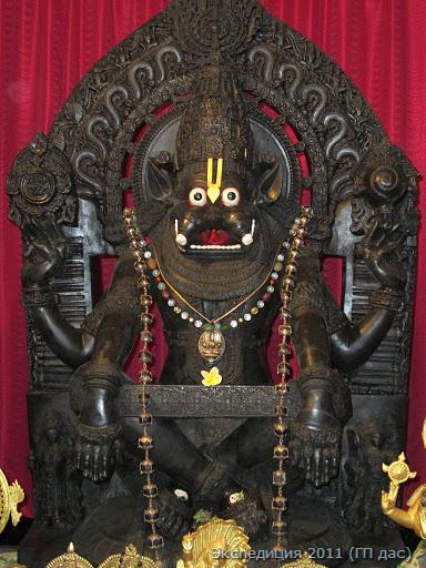 Как Йога-Нрисимха вновь и вновь показывал Себя на вехах нашего пути…