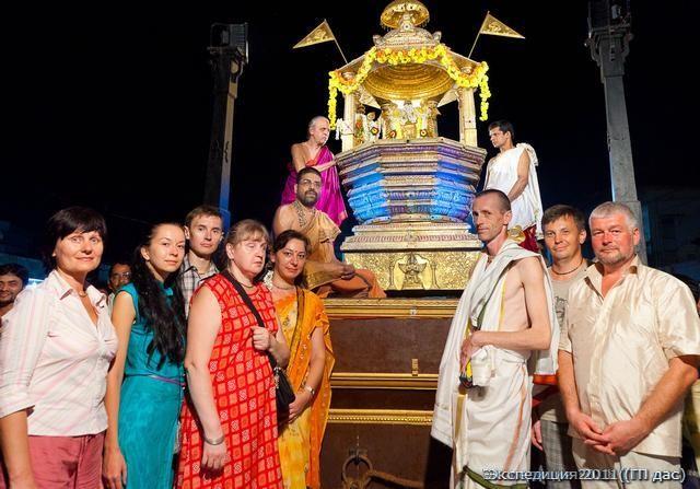 Как нами был устроен праздник колесниц для Шри Кришны в Удупи