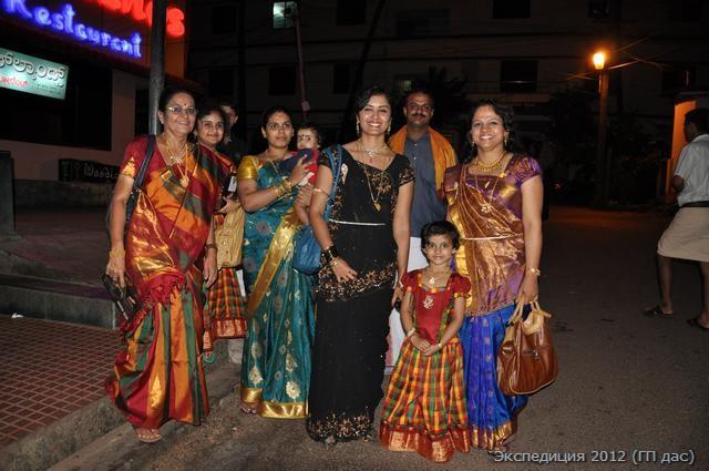 Индийские леди на празднике