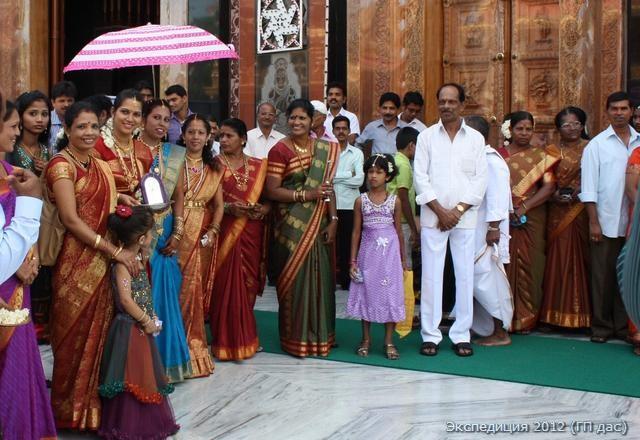 Свадьба в храме в Мангалоре