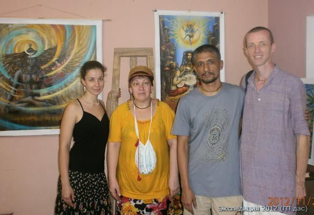 Встреча с всемирно известным художником Вриндаваном Дасом