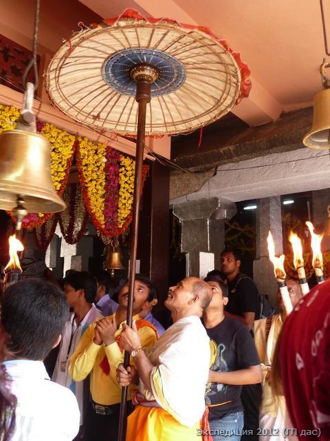 Путешествие в Кумбхаси (28 ноября 2012 г.)