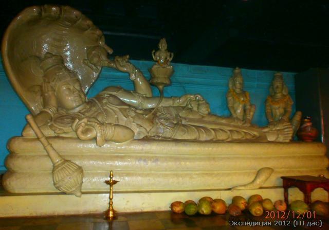 Ананта Падманабха - это Вишну из пупка которого вырос лотос нашей вселенной!