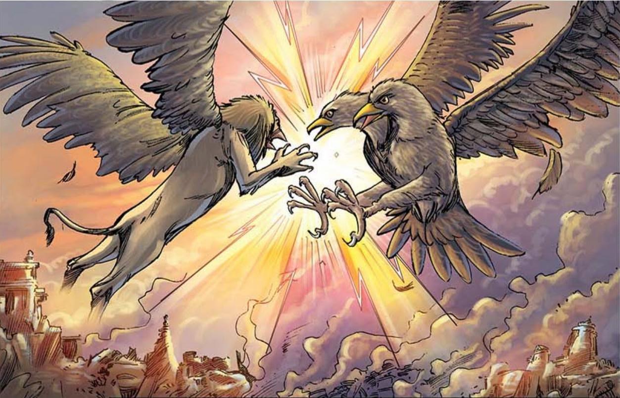 Двуглавый орел Ганда-бхерунда